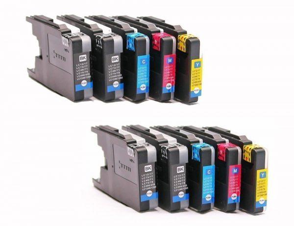 Set 10x alternatief - compatible inkt cartridge voor Brother LC3213 LC-3213