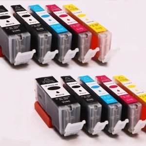 Set 10x alternatief - compatible inkt cartridge voor Canon PGI570XLCLI571XL