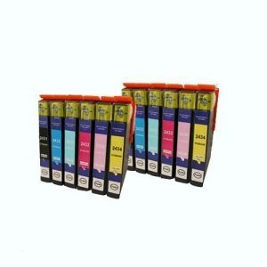Set 12x alternatief - compatible patroon voor Epson 24xL (2xBK+2xCMY+2xCL+2xML)