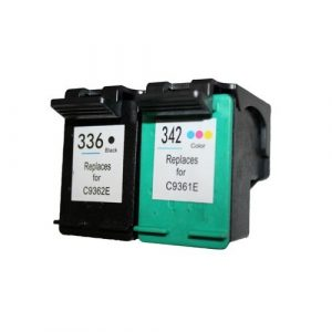 Set 2x alternatief - compatible patroon voor Hp 336/342
