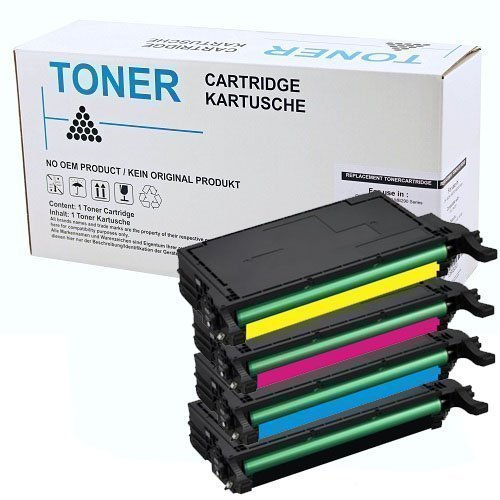 Set 4x alternatief - compatible Toner voor Samsung 508L 5082L CLP620 CLX6220
