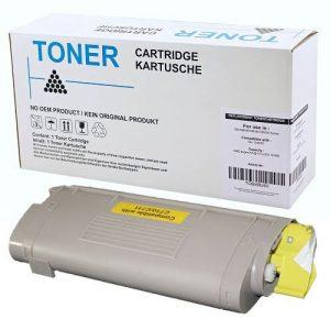 alternatief - compatible Toner voor Oki C710 C711 geel