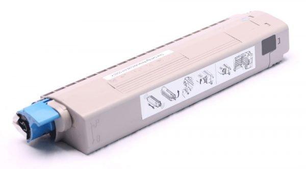 alternatief - compatible Toner voor Oki C822 geel