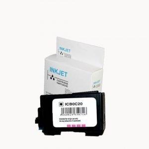 alternatief - compatible inkt cartridge voor Canon BC 20 BX 20 wit Label
