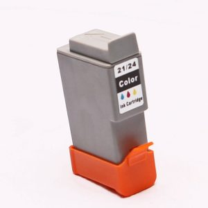 alternatief - compatible inkt cartridge voor Canon BCI 21 24 kleur wit Label