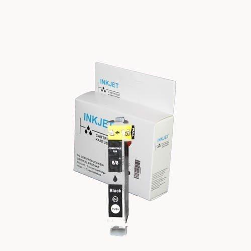 alternatief - compatible inkt cartridge voor Canon BCI 3E foto zwart wit Label