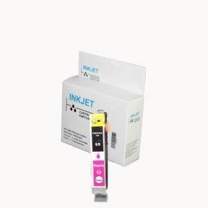alternatief - compatible inkt cartridge voor Canon BCI 3E/6 magenta wit Label