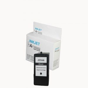 alternatief - compatible inkt cartridge voor Dell 922 J5566 zwart wit Label