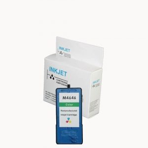 alternatief - compatible inkt cartridge voor Dell M4646 kleur wit Label