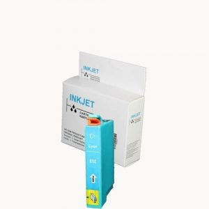 alternatief - compatible inkt cartridge voor Epson T0792 cyan wit Label