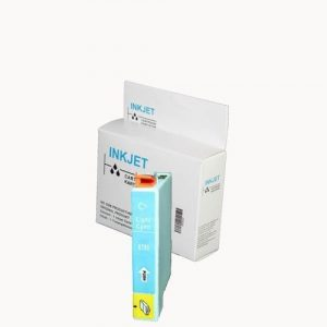 alternatief - compatible inkt cartridge voor Epson T0795 light cyan wit Label