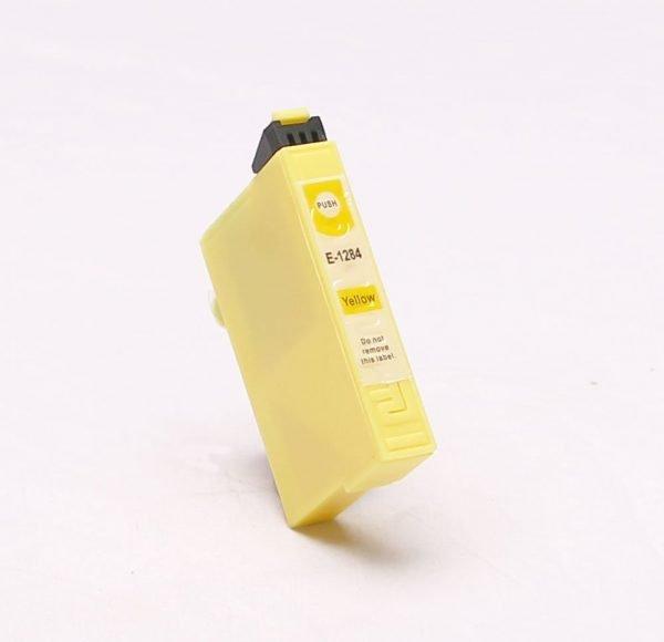 alternatief - compatible inkt cartridge voor Epson T1284 geel
