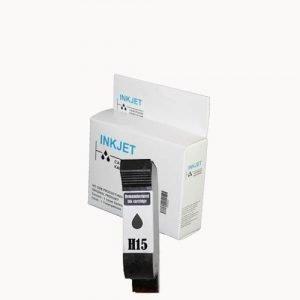 alternatief - compatible inkt cartridge voor Hp 15 C6615DE zwart wit Label