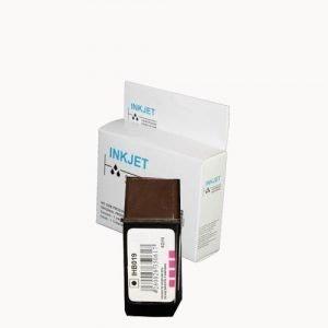 alternatief - compatible inkt cartridge voor Hp 19 C6628AE zwart wit Label