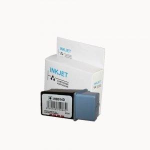 alternatief - compatible inkt cartridge voor Hp 20 C6614 zwart wit Label