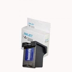 alternatief - compatible inkt cartridge voor Hp 27 C8727A zwart wit Label