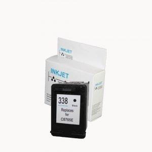 alternatief - compatible inkt cartridge voor Hp 338 zwart wit Label