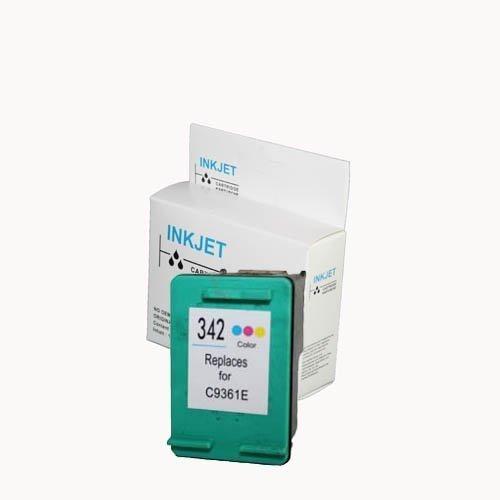 alternatief - compatible inkt cartridge voor Hp 342 kleur wit Label