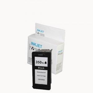 alternatief - compatible inkt cartridge voor Hp 350Xl zwart wit Label