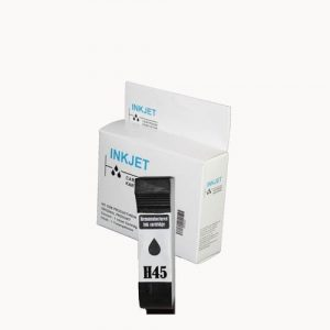 alternatief - compatible inkt cartridge voor Hp 45 zwart wit Label