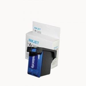 alternatief - compatible inkt cartridge voor Hp 57 C6657A kleur wit Label