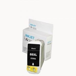 alternatief - compatible inkt cartridge voor Hp 84 C5016A zwart wit Label
