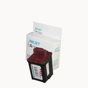 alternatief - compatible inkt cartridge voor Lexmark 90 95 foto wit Label