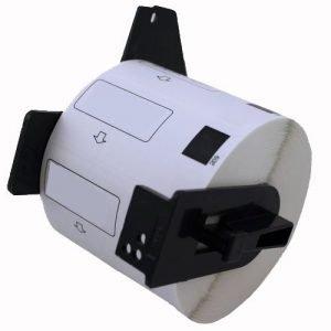 alternatief - compatible label voor Brother Dk11202 wit 62Mmx100Mm