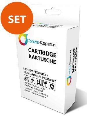 Set 4x huismerk inkt cartridge  voor HP 711 T120 T520