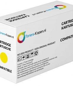 Huismerk Toner voor Lexmark XC2132 geel 3000 pagina's