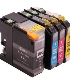 Set 4x kompatibel inkt cartridge voor Brother LC22E MFCJ5920DW